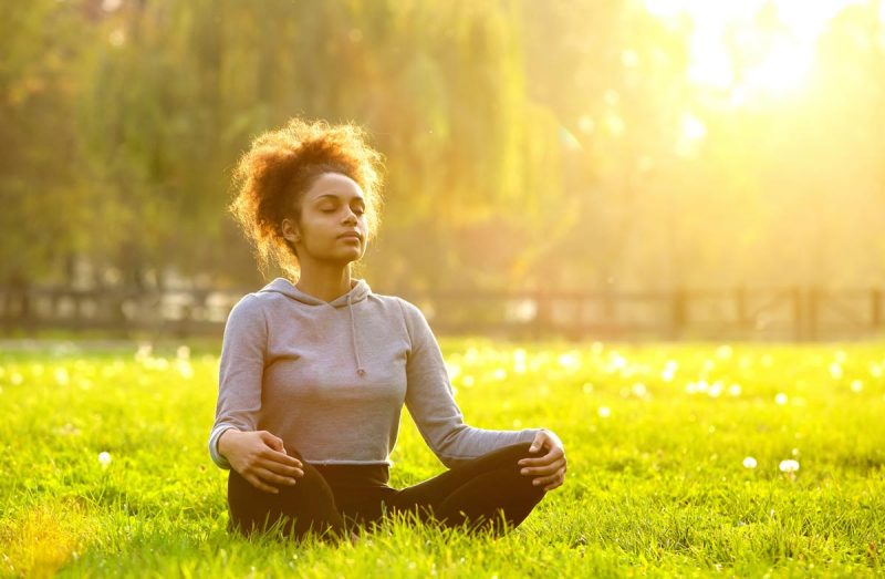 Meditation is a great way to start the day