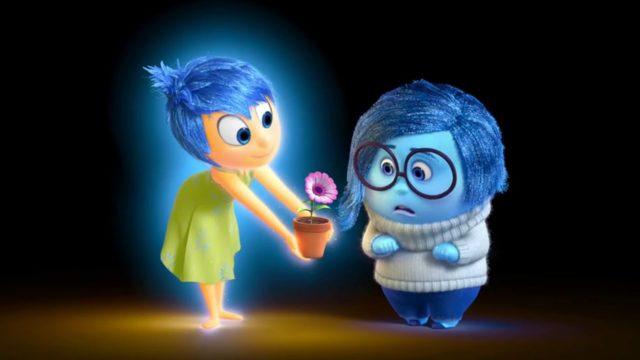 Inside Out Movie Joy Sadness