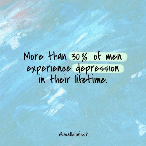 San Francisco therapist Depression in Men