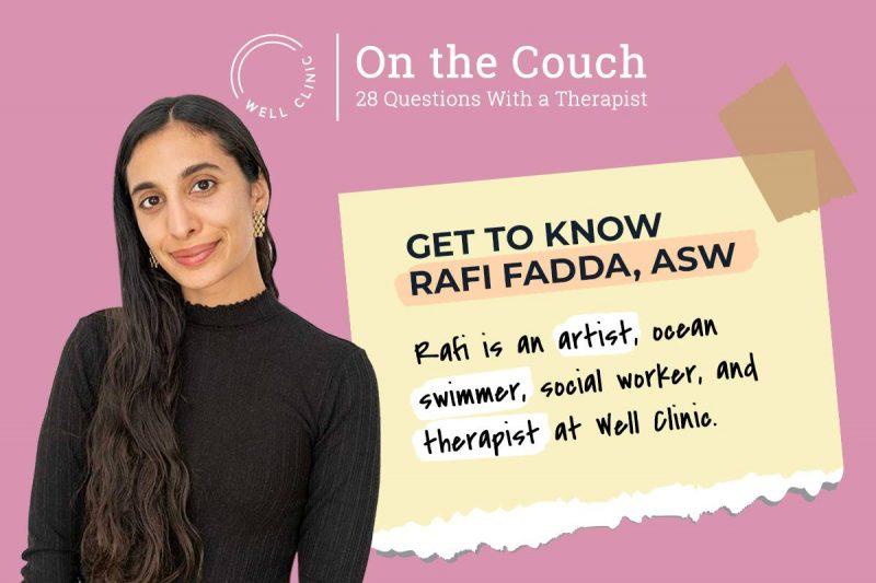 Main Image for Well SF Clinic's Rafi Fadda