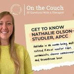 On the Couch — a Q&A with Nathalie Olson-Studler, APCC