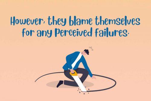 Impostor Syndrome perceived failures blame
