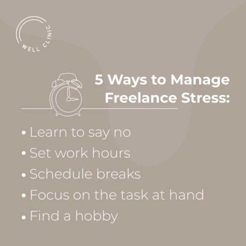 Managing Freelancer Stress