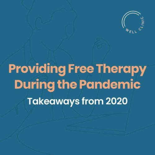 free therapy program