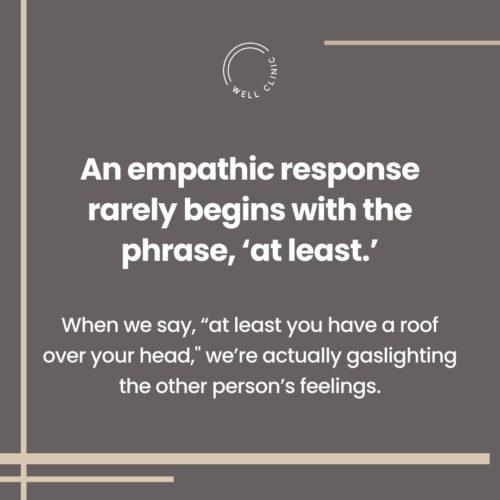Empathic Response